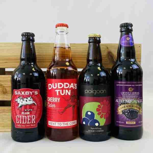 Ciderlicious - Gift of 4 Dark Fruit Ciders 2