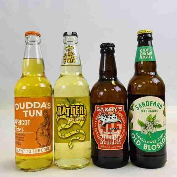 Ciderlicious - Gift of 4 Medium Ciders 1