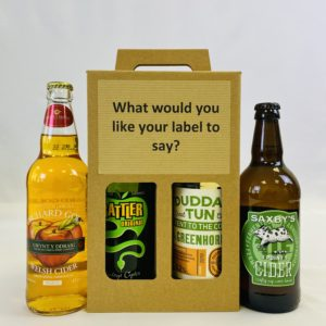Gift of 4 Ciders Selection 2