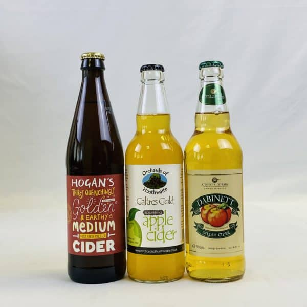 Ciderlicious - Curry Night In - 9 Medium Dry Ciders & 2 Curry Kits 2