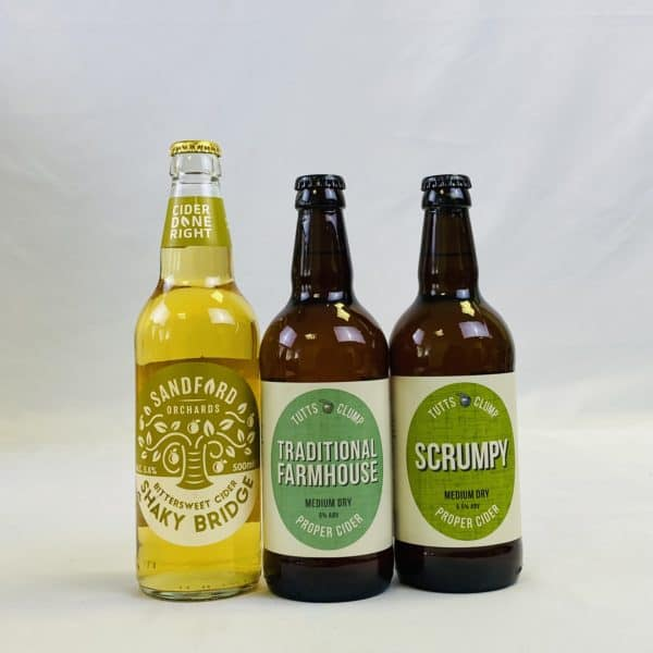Ciderlicious - Curry Night In - 9 Medium Dry Ciders & 2 Curry Kits 3