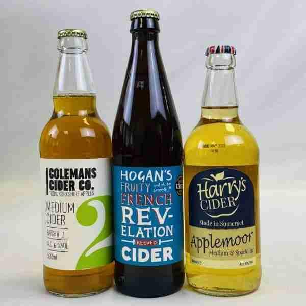 Ciderlicious - Night in Box - 6 Medium Ciders & 3 Snacks 1