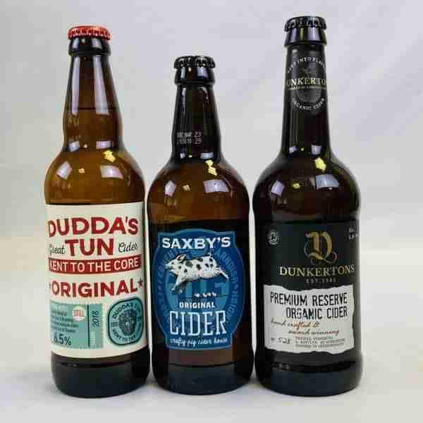 Ciderlicious - Night in Box - 6 Medium Ciders & 3 Snacks 2